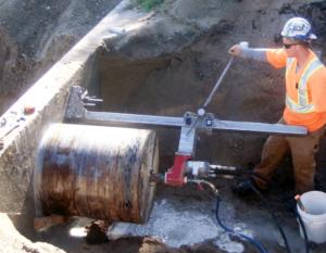Core Drill 30 inch holes
