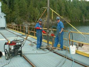 Core Drill Bridge