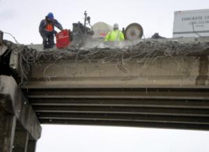 Flat Saw Concrete Bridge