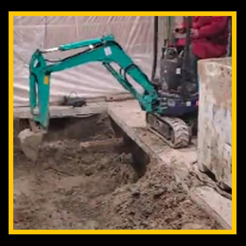 Indoor Excavation