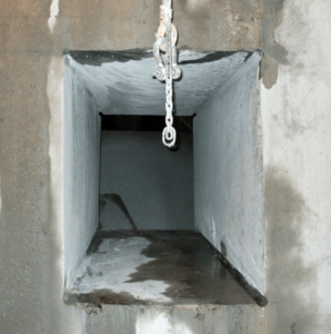 Wire Saw 10 foot deep access opening