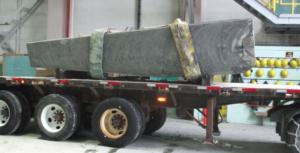 Wire Saw Concrete Block Transportation
